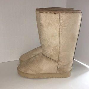Shoes - Sheeps Australia solid long boots